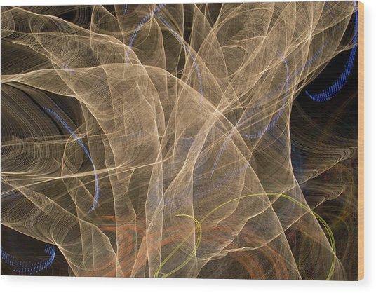 Light Flight 1 Wood Print