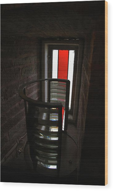 Light Lens Wood Print