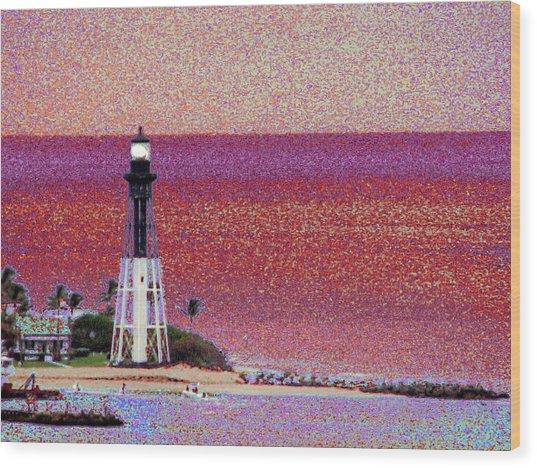 Lighthouse 1014 Wood Print