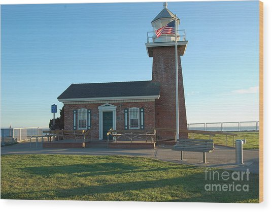 lighthouse in Santa Cruz Wood Print