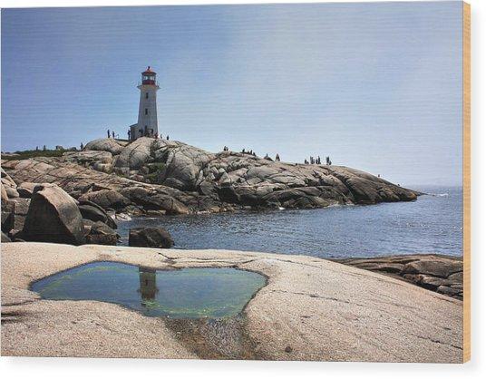 Lighthouse Lighthouse Wood Print
