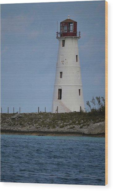Lighthouse Watch Wood Print