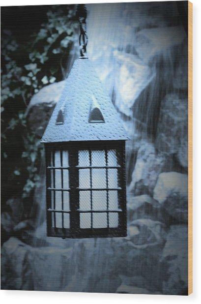 Lighting Wood Print by Jessica Burgett