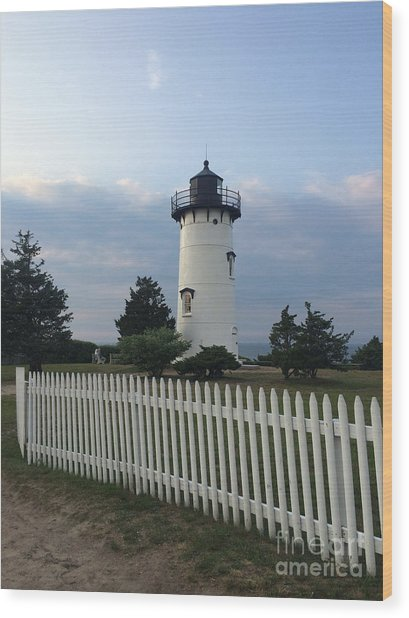 Lighting Up Martha's Vineyard Wood Print