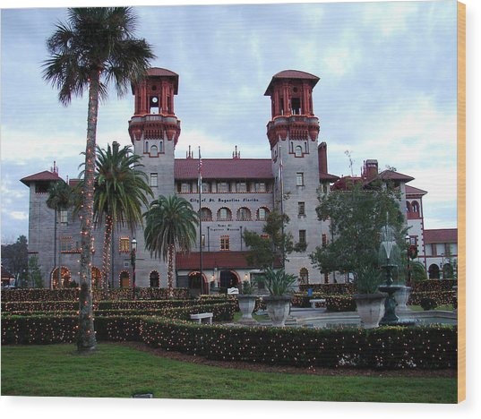 Lightner Museum Wood Print by Tobi Czumak