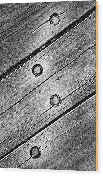 Lightning Bolt Wood Print