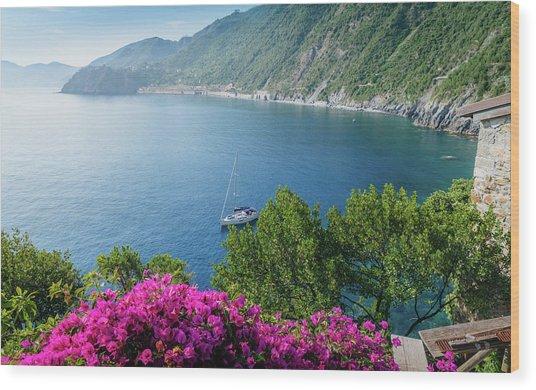 Ligurian Sea, Italy Wood Print