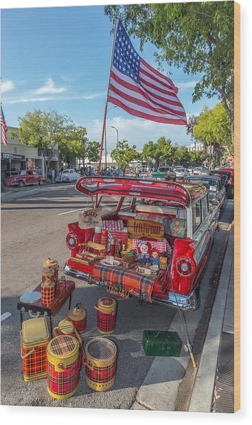 Like The 4th Of July Wood Print by Peter Tellone