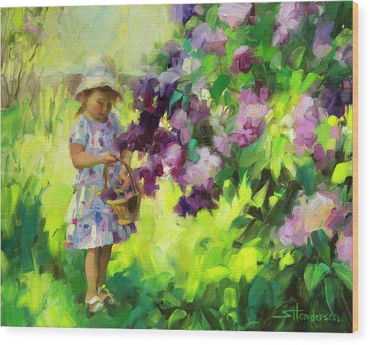 Lilac Festival Wood Print