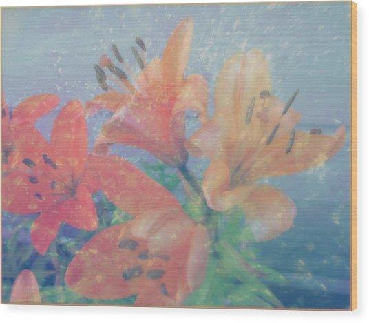 Lilies #1 Wood Print