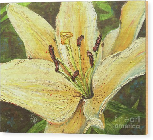 Lily Dream Wood Print