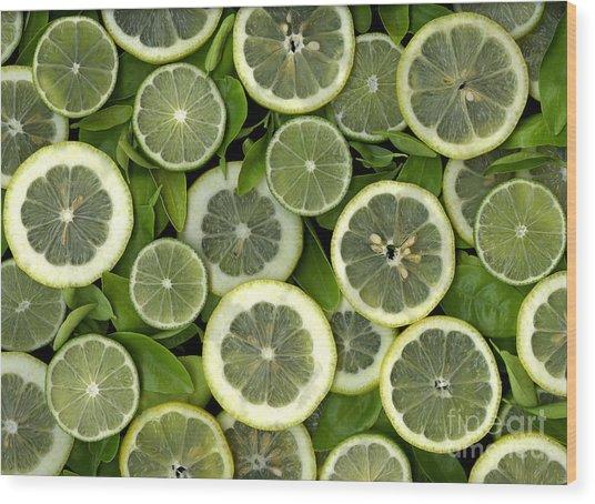 Limons Wood Print