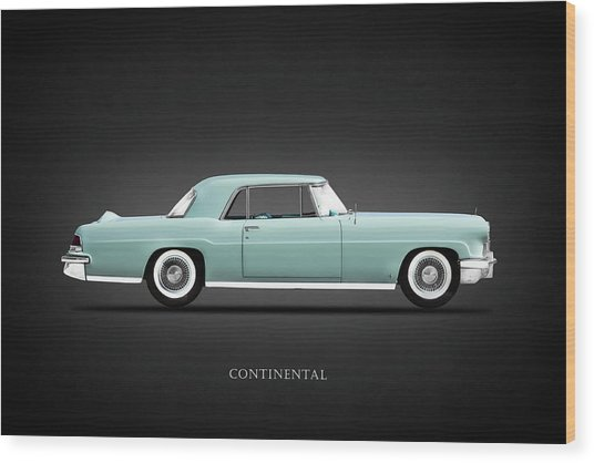 Lincoln Continental Mk2 1956 Wood Print