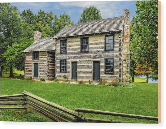 Lincoln Heritage House Elizabethtown Kentucky Wood Print