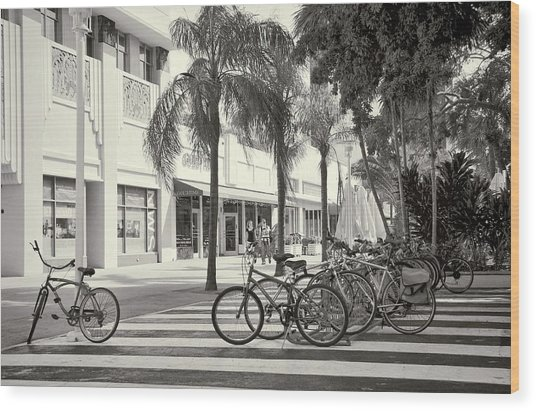 Lincoln Road Wood Print
