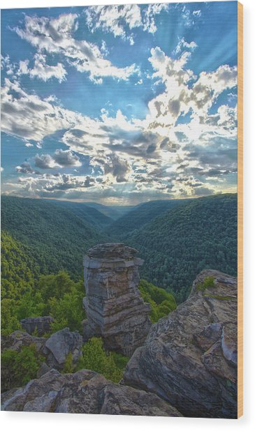 Lindy Overlook Wood Print
