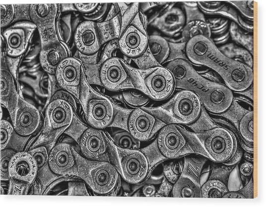 Links II Wood Print