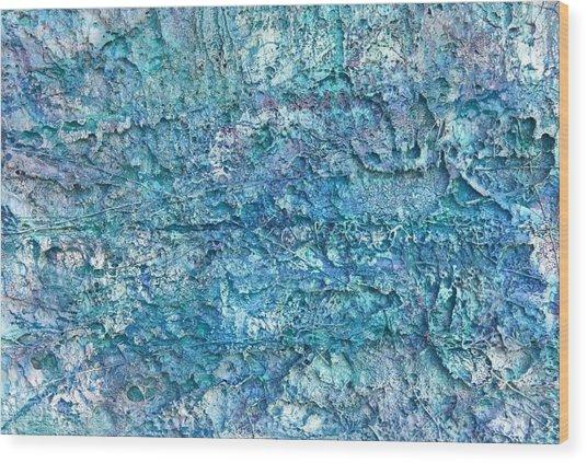 Liquid Abstract #22617 Wood Print