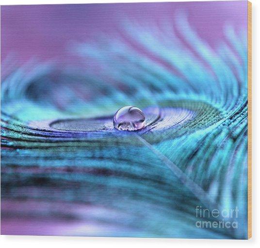 Liquid Bliss Wood Print