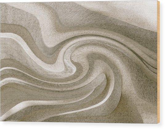 Liquidity 2 Wood Print