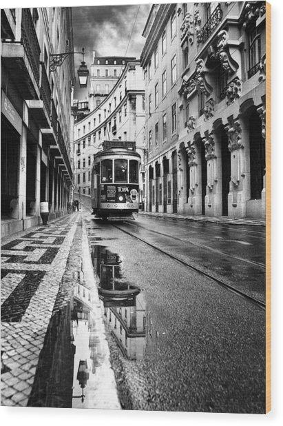 Lisboa Wood Print