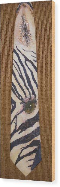 Listen Up Wood Print by David Kelly
