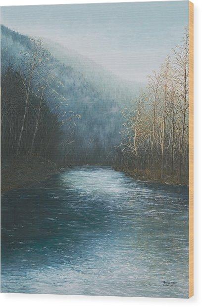 Little Buffalo River Wood Print
