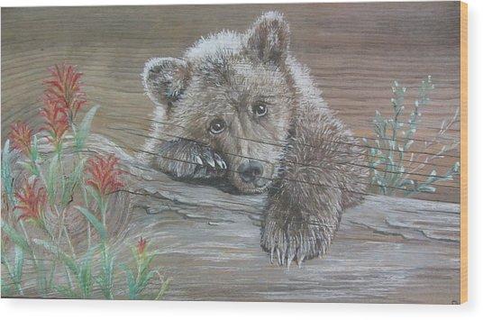 Little One Wood Print