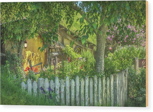 Little Picket Fence Wood Print