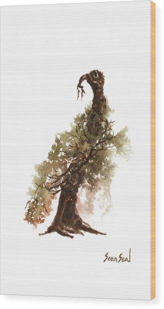 Little Tree 69 Wood Print