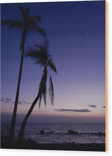 Live Aloha Wood Print