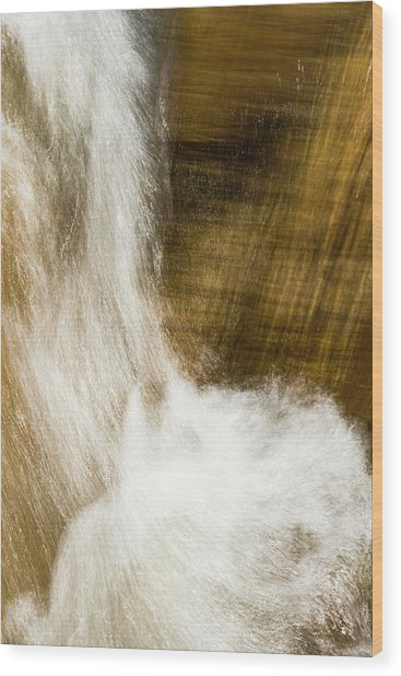 Wood Print featuring the photograph Living Liquid by Deborah Hughes