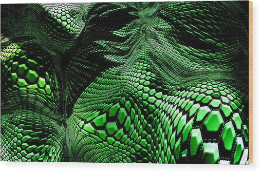 Dragon Skin Wood Print