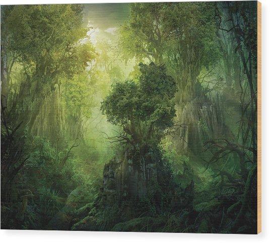 Llanowar Reborn Wood Print