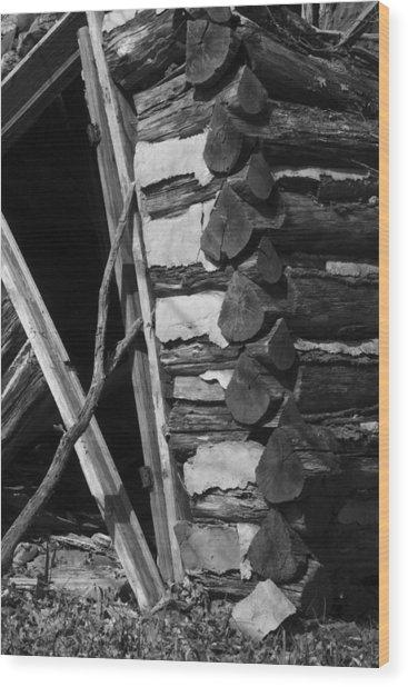 lloyd-shanks-barn-3BW Wood Print