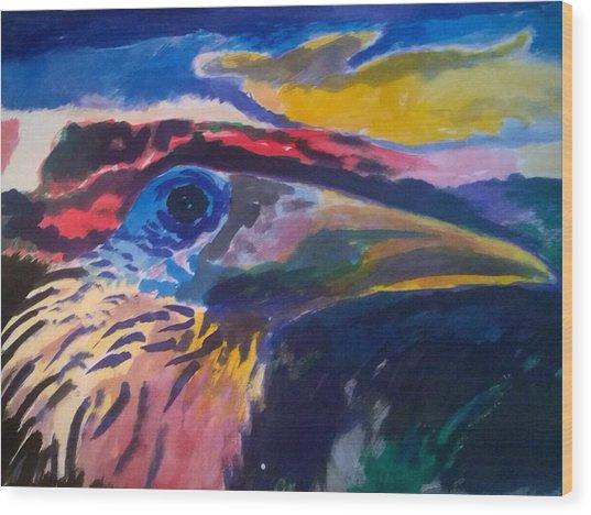 L'occhio Del Tucano Wood Print