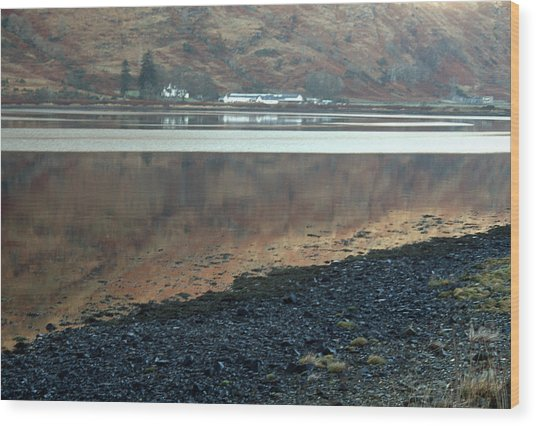 Loch Linnhe Reflection Wood Print