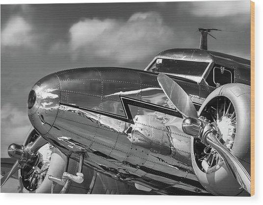 Lockheed Splendor Wood Print