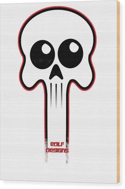 Logo  Wood Print by Eric De La Fuente