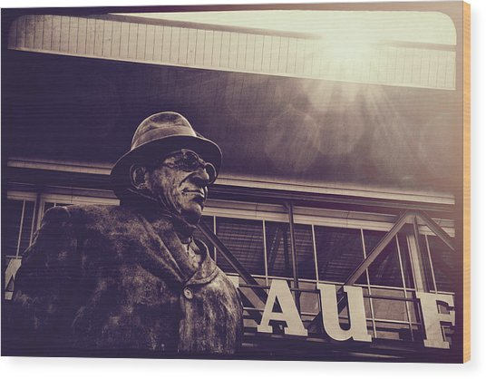 Lombardi - Shadow Of Greatness Wood Print