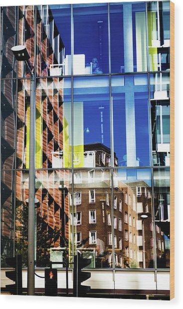 London Southwark Architecture 2 Wood Print