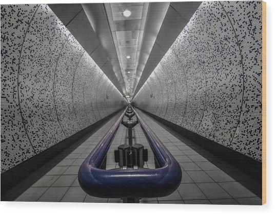 London Underground Wood Print