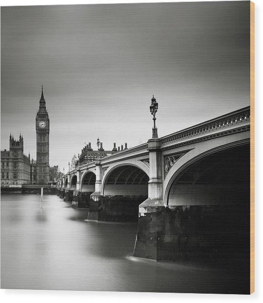 London Westminster Wood Print