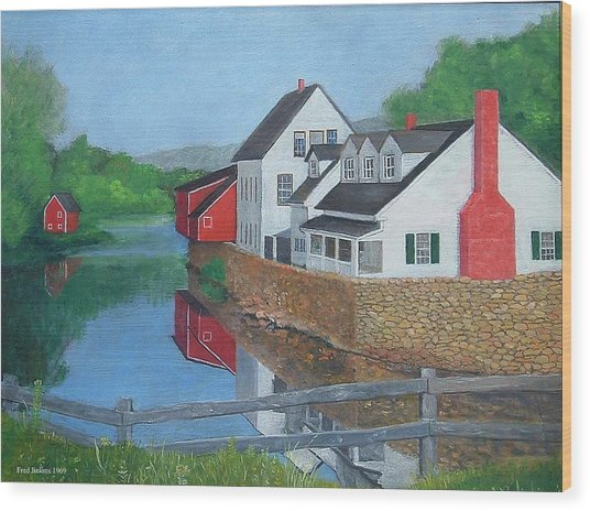 Londonderry Vermont Wood Print