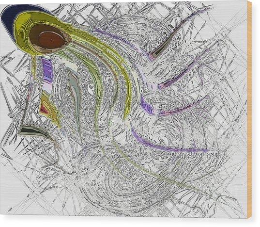 lone Sperm Wood Print by Patrick Guidato