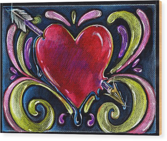 Lonely Hearts Wood Print