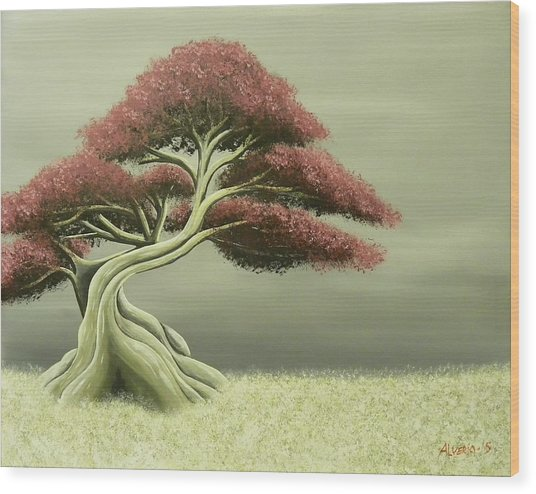 Lonely Soul Wood Print