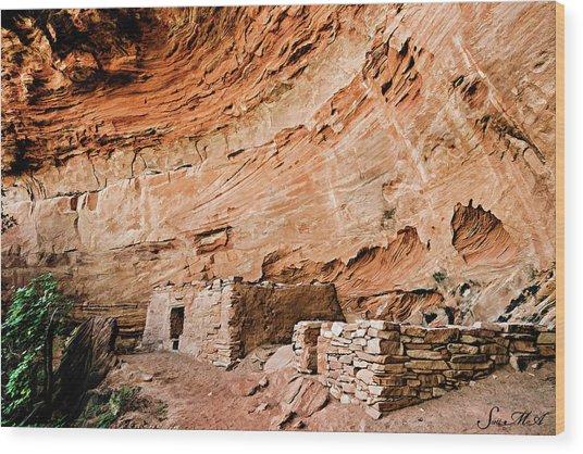 Long Canyon 05-219 Wood Print