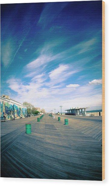 Long Island Wood Print by Patrick Villela