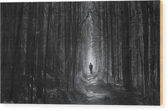 Long Way Home Wood Print